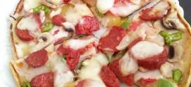 Evde Lezzetli ve Sağlıklı Pizza Tarifi